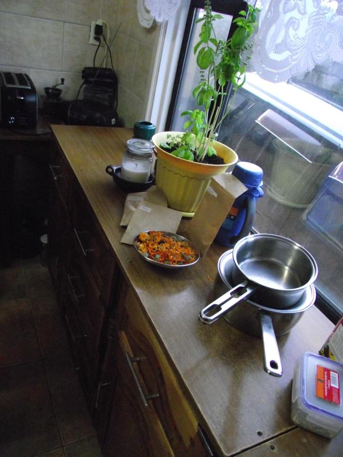 Algunos materiales para la preparación de una pomada
